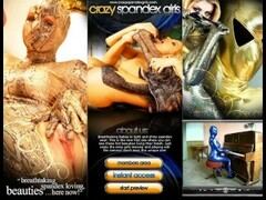 Flexible Spandex Babe Sandra Thumb
