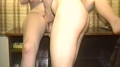 Naughty Vintage homemade porn with a slutty brunette wife Thumb