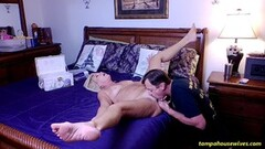 Ariana Marie gets lesbian punishment for smoking Thumb
