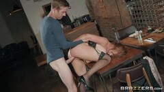 Thick Asian Secretary Roughed The Fuck Up And Riding Cock Thumb