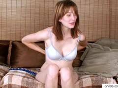 Sexy Short Haired Girl masturbating on Hidden Camera Thumb