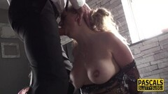 Naughty sluts get facials Thumb