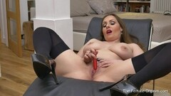 Femorg MILF with Hot Naturals Solo Masturbation Orgasm Thumb