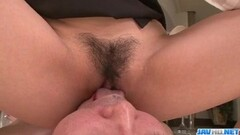 Teen has her hairy pussy penetrated by a horny old man and gi Thumb