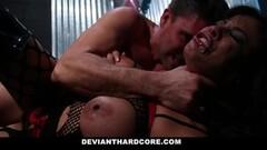 Naughty babe fucked by her partner Thumb
