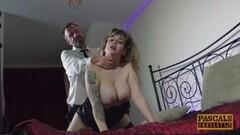 Yanks Chesty Babe Vera Blue Masturbates Her Eager Hole Thumb