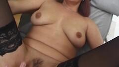 Horny masseuse enjoys sensual fuck Thumb