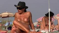 Hot nudist beach spy fat pussy crotch shot Thumb