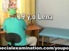 Cute girl passes medical examination Thumb