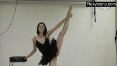 Flexible teen does gymnastics Thumb
