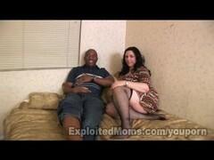 Chubby Older Women w Big Ass in Interracial Video Thumb