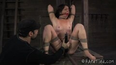 Bondage outdoor and rough wrestling fuck Adrian Thumb