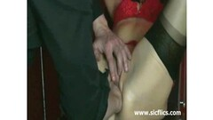 Arab Takes panties off Thumb