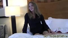 short hair blonde Aaliyah Hadid nuru massage fuck Thumb