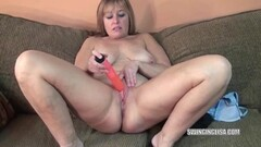 Mistress fucks and anal fingers busty babe Thumb