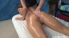 Horny secretary Melena Maria fucks her ass in a lingerie fitting room Thumb
