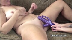Beautiful girl gal gets strong orgasm Thumb