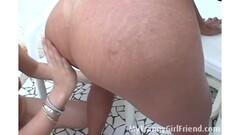 HORNY Lesbian Massage Thumb