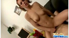 Naughty Lady Sonia has some JOI fun on her live stream Thumb
