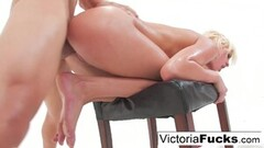 Naughty Victoria White Takes On a Huge Cock! Thumb