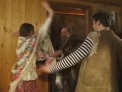 Russian orgy in sauna Thumb
