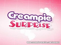 Sara Stone - Creampie Surprise Thumb