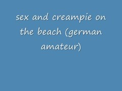 sex and creampie on the beach Thumb