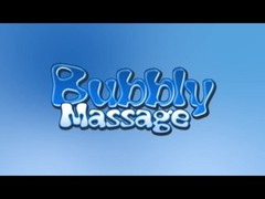 Pornstar Giving Soapy Bubbly Massage Thumb