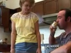 Hot and Ugly Milf and Her Step-son Kitchen Fuck Thumb