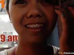 Lean Filipina teen with cute braces fucked Thumb
