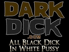 White Babe takes Giant Black Dick interracial Thumb
