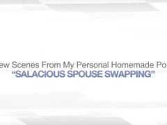 SALACIOUS SPOUSE SWAPPING – AMATEUR SWINGER ORGY Thumb