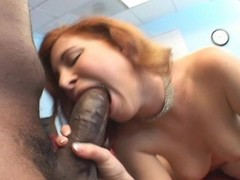 Red headed white girl gets jammed by black guys cock Thumb