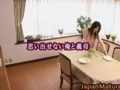 Japanese mature babe gets fucked doggy part3 Thumb
