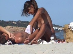 beach incredible brunette girlfriend corsisca Thumb