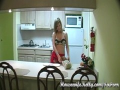 Milf fucked in the kitchen Thumb
