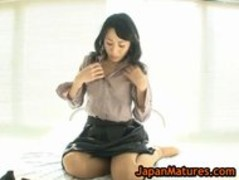 Asian mature natsumi kitahara stripping part3 Thumb
