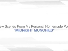 MIDNIGHT MUNCHIES – REAL AMATEUR LESBO FRIENDS Thumb