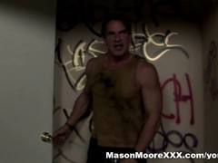 Mason Moore fucks a guy in a dirty bathroom Thumb