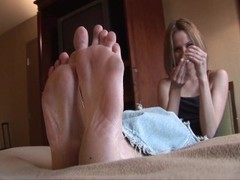 Kelli loves those feet  Pt. 1/2 Thumb