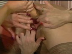 Double Fisting  lesbian girl on girl lesbians Thumb