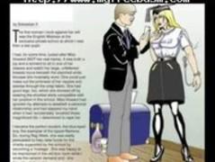 Horror Comics Women Captured bdsm bondage slave femdom domination Thumb
