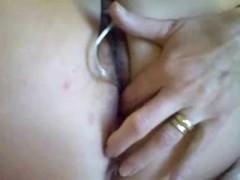 MILF Orgasm - Pulsating cum Thumb