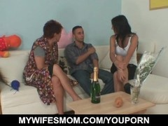 Young guy seduced by his wife's mom Thumb