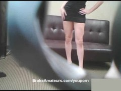 Red haired amateur girl porn audition Thumb