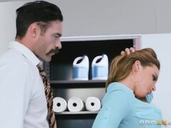 Blonde girl is getting fucked by an old man Thumb