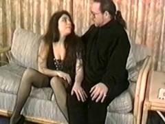 Latina Angel comforts a weary old man Thumb