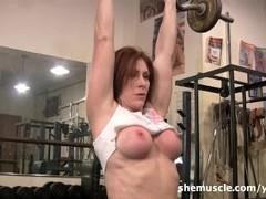 Catherine DeSade - SheMuscle Thumb