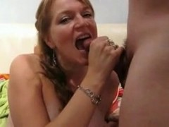Geman Milf Cum in Mouth Thumb