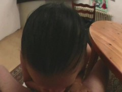 POV sex at the kitchen table Thumb